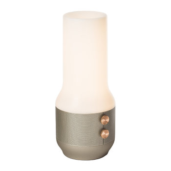 Terrace Lamp/Speaker/Portable Charger - Light Gold