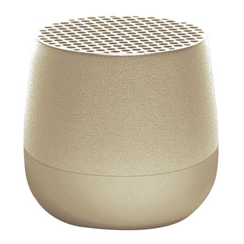 Mino Bluetooth Speaker - Light Gold
