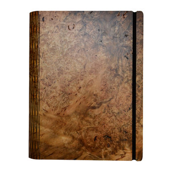 Sweet Gum Burr Wooden Notebook - Pocket - 15.5x19cm