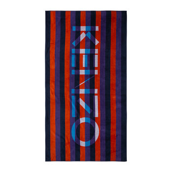 KRayure Beach Towel - Red