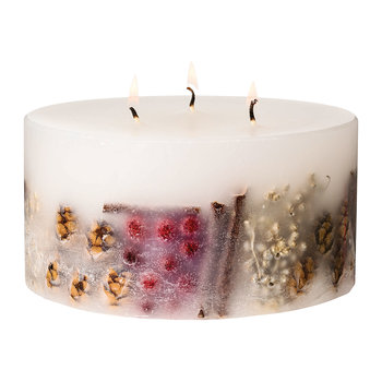 Nutmeg, Ginger & Spice 3-Wick Pillar Candle