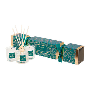 Eucalyptus & Lime Christmas Cracker Gift Set
