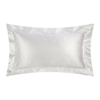 100% Silk Pillowcase - 50x75cm - White