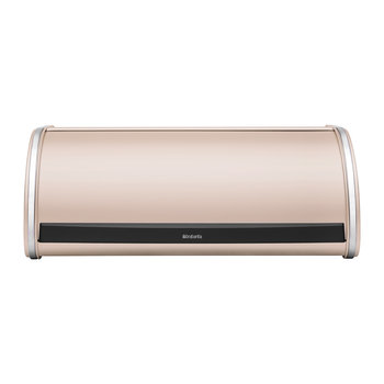 Roll Top Bread Bin - Clay Pink
