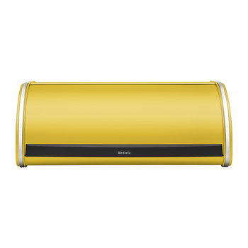 Roll Top Bread Bin - Daisy Yellow