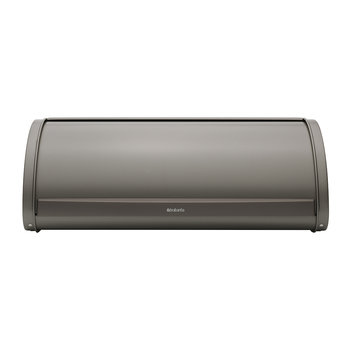 Roll Top Bread Bin - Platinum