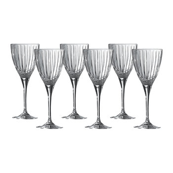 Linear Wine Glasses - Set of 6