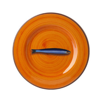 Assiette Aimone - Orange