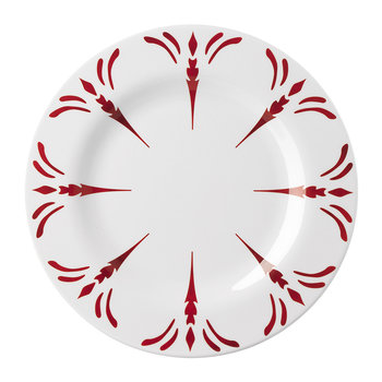 Tessa Fruit Plate - Red