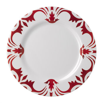 Tessa Plate - Medium - Red