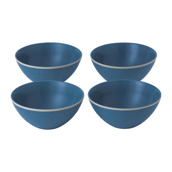 Gordon Ramsay Maze Grill Bowls - Set of 4 - Blue
