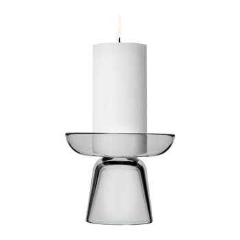 Nappula Candle Holder - Grey