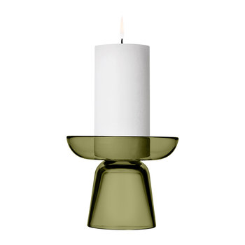 Nappula Candle Holder - Moss Green