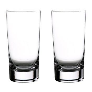 Elegance Highball Glasses - Set of 2