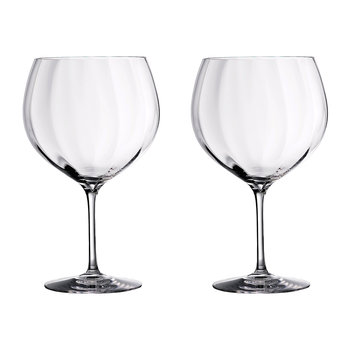 Elegance Optic Balloon Glasses - Set of 2