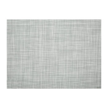 Mini Basketweave Rectangle Placemat - Mist