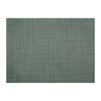 Basketweave Rectangle Placemat - Jade