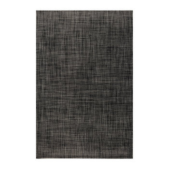 Basketweave Rug - Carbon