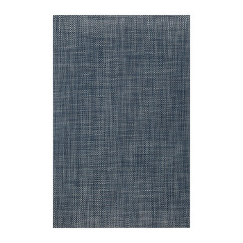 Basketweave Rug - Denim