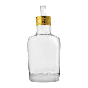 Hommage Gold Classic Whiskey Decanter