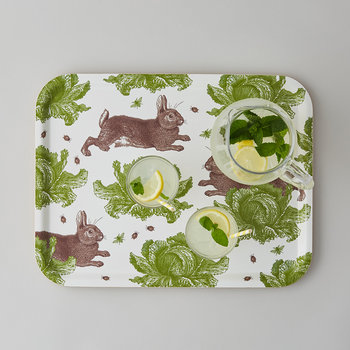 Rabbit & Cabbage Tray