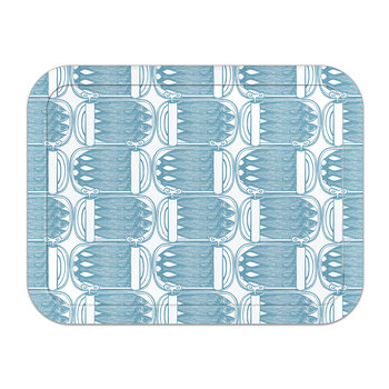 Sardine Tins Tray - Pale Blue- Large