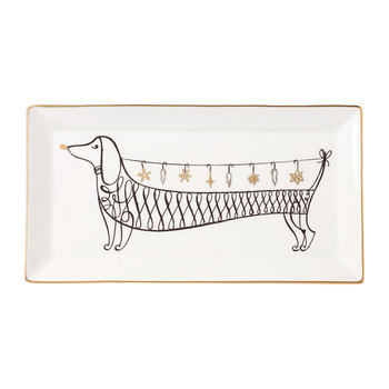 'Jingle All The Way' Rectangular Tray