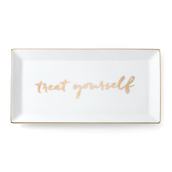 Oh What Fun 'Treat Yourself' Rectangular Tray