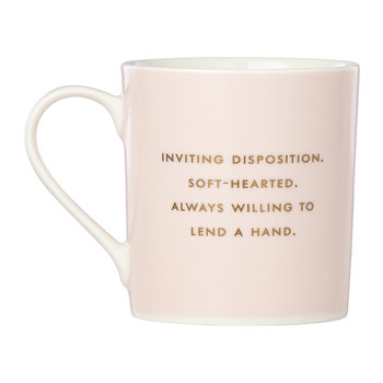 'Things We Love Mug' - Warm