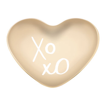All That Glistens 'XOXO' Heart Dish