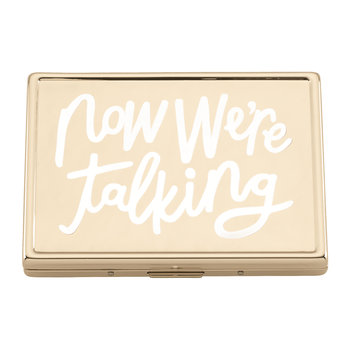 All That Glistens 'Now We're Talking' Card Holder