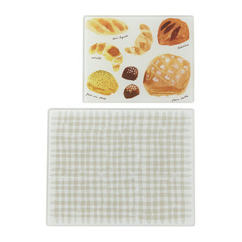 'Freshly Baked' Chopping Board - Set of 2