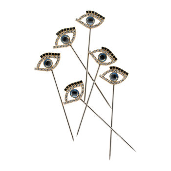 Evil Eye Cocktail Picks - Set of 6