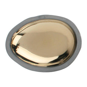 Pebble Charcoal Dish - Small - Gold