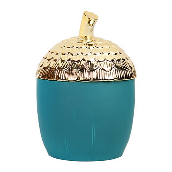 Acorn Storage Jar - Large - Green
