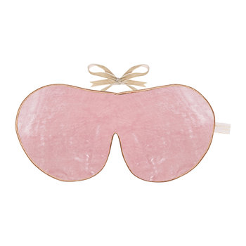 Limited Edition Velvet Lavender Eye Mask - Rose