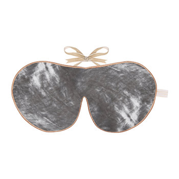 Limited Edition Velvet Lavender Eye Mask - Silver