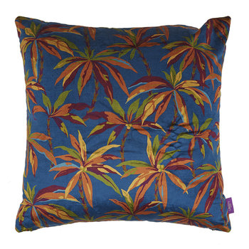 Oasis Velvet Cushion - 60x60cm - Teal