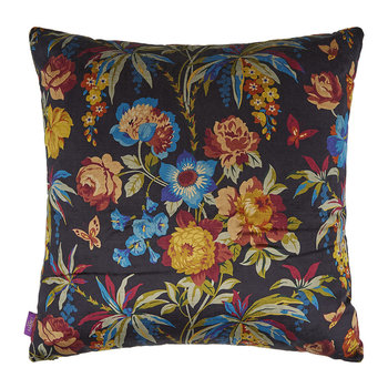 Layla Velvet Pillow - 60x60cm - Navy