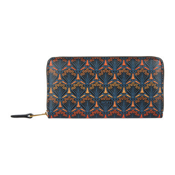 Dawn Large Zip Wallet - Orange