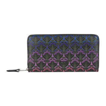 Dusk Large Zip Wallet - Purple