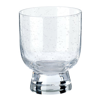 Ciro Glass Tumblers - Clear - Set of 4