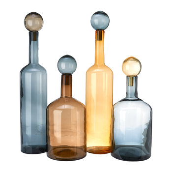 Bubbles & Bottles - 4er-Set - Chic