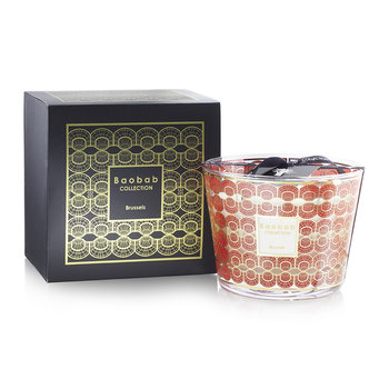 Holiday Season in Brussels Scented Candle - 10cm
