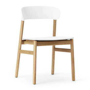 Herit Oak Chair - White