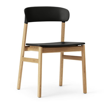Herit Oak Chair - Black