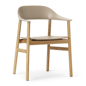 Herit Oak Armchair - Sand