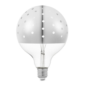 Dot Light Bulb - Silver