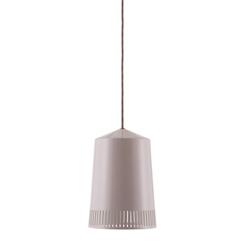 Tivoli Toli Ceiling Light - Pearl Grey - Small