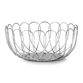 Fence Bowl - Silver